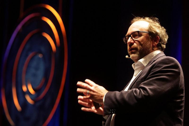 Jimmy Wales no Fronteiras do Pensamento (Foto: divulgação)