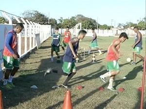 Gurupi tem grandes chances de vencer o Estadual Sub-18 (Foto: Reprodução/TV Anhanguera)