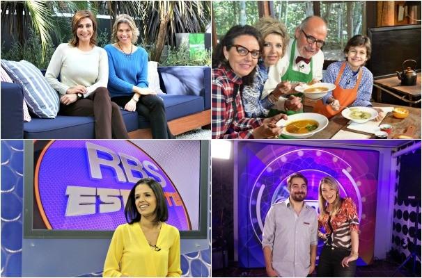 programas da rbs tv (Foto: Monatagem sobre fotos/Divulgação)