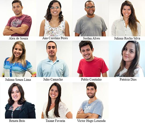 Equipe aplicativo (Foto: SuperStar / TV Globo)