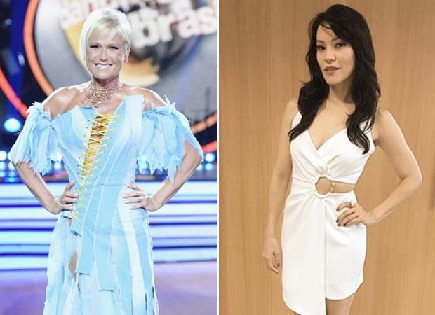 Xuxa e Geovanna Tominaga mandam indireta para Susana Vieira