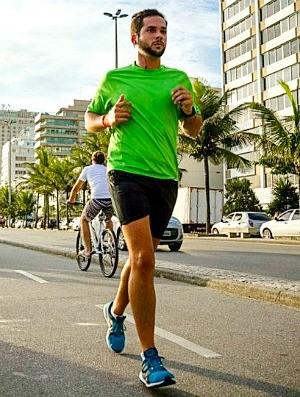 Thiago Simão sincronizado euatleta (Foto: Arquivo Pessoal)