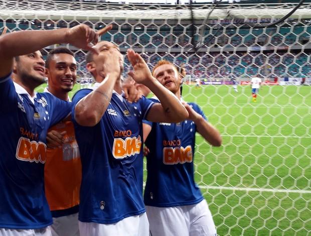 Cruzeiro Comemoração (Foto: Marco Astoni)