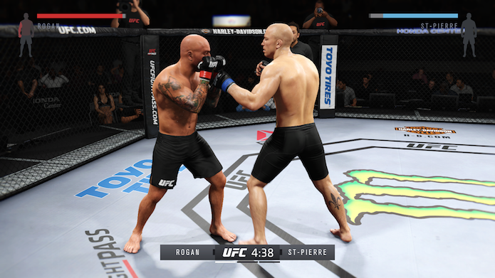 EA Sports UFC 2: como desbloquear Joe Rogan (Foto: Reprodução/Victor Teixeira)