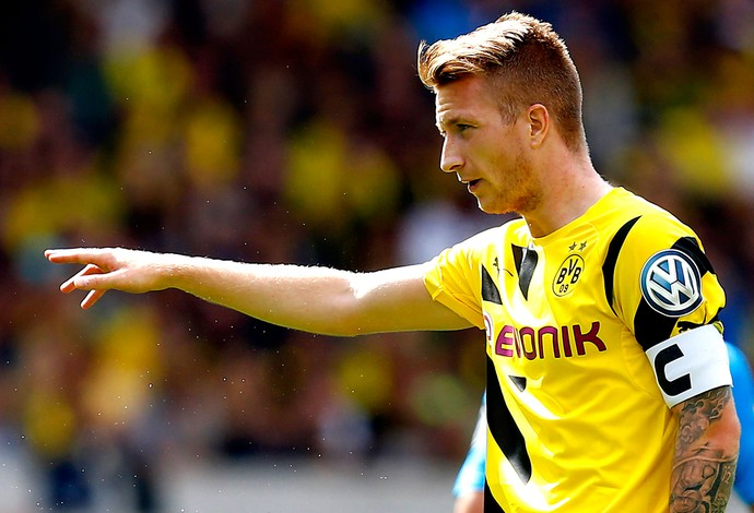 Marco Reus jogo Dortmund (Foto: Reuters)