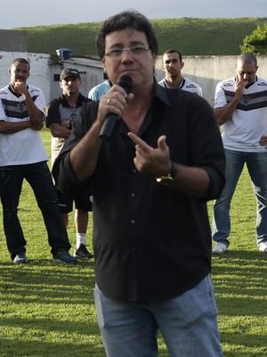 Rubens Pinheiro, Presidente do Atlético-ES (Foto: Richard Pinheiro/GloboEsporte.com)