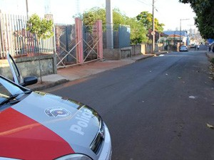 Local onde idosa foi atropelada no ano passado em São Carlos (Foto: Reprodução/EPTV)