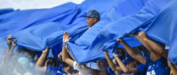Torcida do Cruzeiro (Foto: Juliana Flister/Light Press)