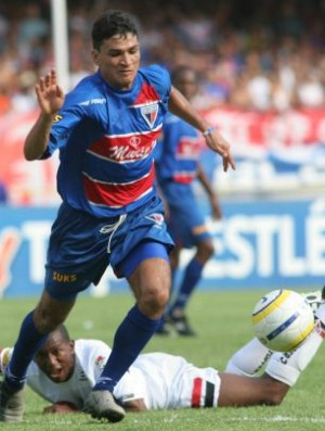 Ronaldo Angelim no Fortaleza (Foto: Agência Diário)