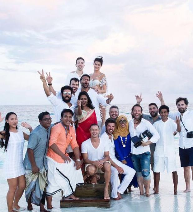 Casamento de Isabeli Fontana e Di Ferrero (Foto: Reprodução/Instagram)