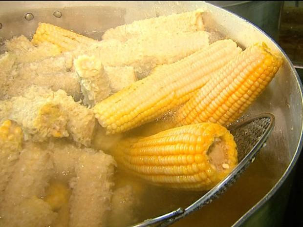 Festa do Milho Verde espera receber cinco mil no fim de semana (Foto: Reginaldo dos Santos/EPTV)