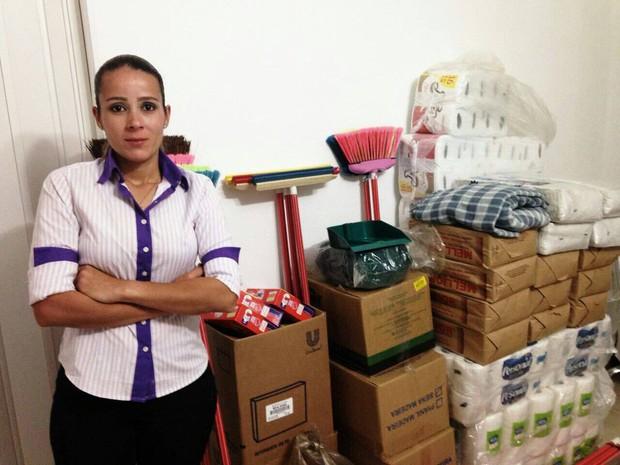 Danielle Pintor Matos diz que não quer ver a carteira de trabalho  (Foto: Arquivo pessoal)