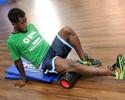 Animado com acerto, Toró treina forte para se apresentar bem ao Goiás