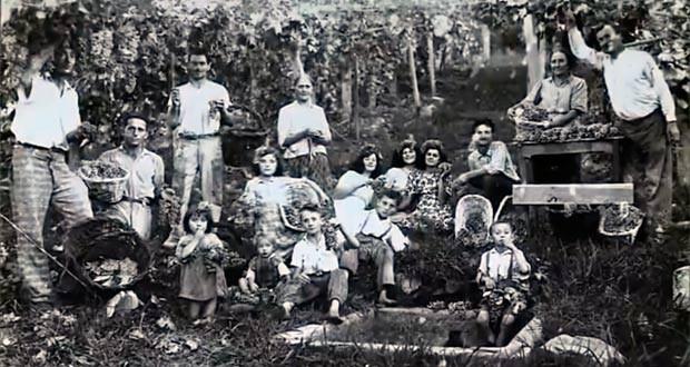 Foto da família de Guisti é um dos poucos registros da época (Foto: Reprodução/RBS TV)