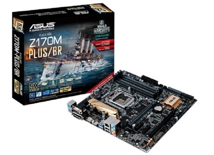 ASUS Z170M-PLUS/BR aceita somente processadores da AMD (Foto: Divulgação/AMD)  (Foto: ASUS Z170M-PLUS/BR aceita somente processadores da AMD (Foto: Divulgação/AMD) )