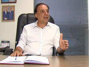O secretário de Transporte e Trânsito de São Carlos, Márcio Marino (Foto: Reprodução/ EPTV)