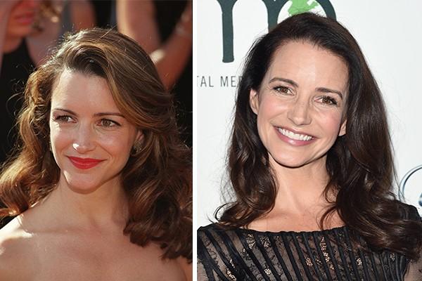 Kristin Davis ('Sex And The City') aos 35 anos em 2000 e aos 51 atualmente (Foto: Getty Images)