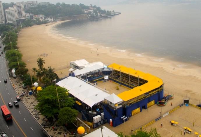 Niterói recebe etapa do Circuito Brasileiro (Foto: Divulgação/CBV)