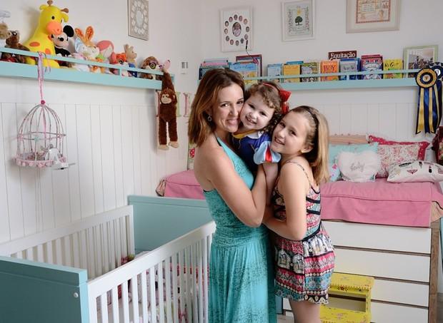 Foram cinco gestações até realizar o sonho de ser mãe de dois filhos (Foto: Foto: Camilla Maia)