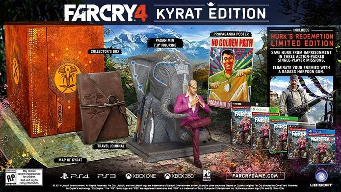 Pagan Min é a estrela da versão de Far Cry 4 para Xbox One (Foto: Divulgação/Techland))