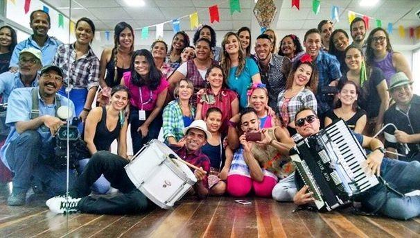 TV Sergipe participa do Bem Estar e destaca o 'Zumba Forró' (Foto: Divulgação / TV Globo)