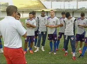 Técnico Araguaína (Foto: Reprodução/TV Anhanguera)