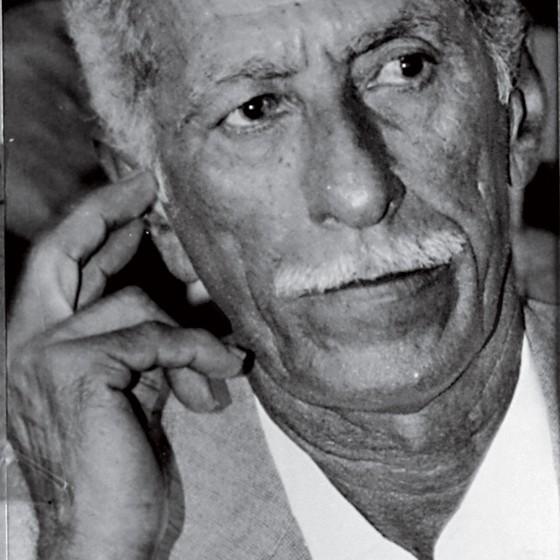 Luiz Rufíno,hoje com 87 anos,no dia que foi condenado a 15 anos de cadeia,em 1995 (Foto:  Claudio Lima/O Povo)