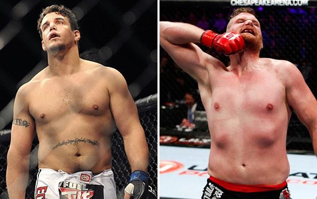Frank Mir e Josh Barnett MMA (Foto: Montagem sobre foto da Getty Images)
