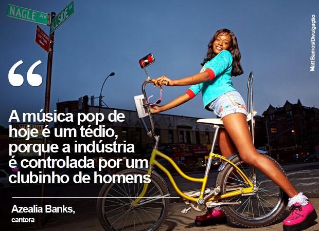 Azealia Banks (Foto: Matt Barnes/Divulgação)