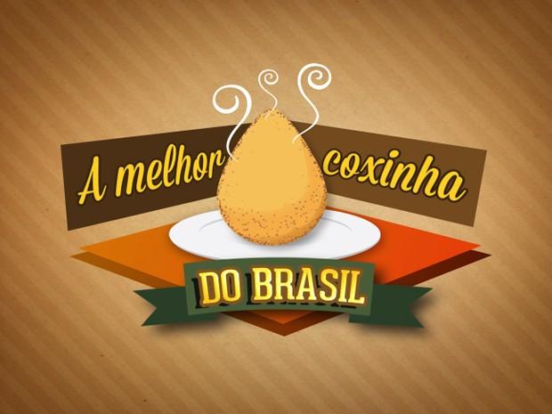 Nova logo concurso 'A Melhor Coxinha de Frango do Brasil' (Foto: Mais Você / TV Globo)
