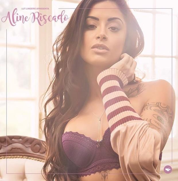 Aline Riscado (Foto: Reprodução/Instagram)