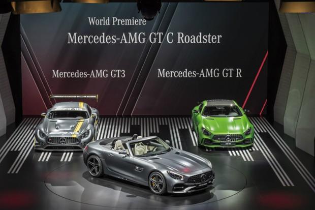 Mercedes mostra novo Mercedes-AMG GT C Roadster (Foto: Divulgação)