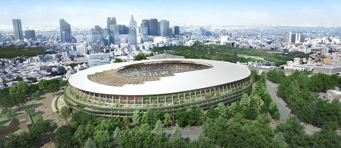 Novo projeto estádio olímpico de Tóquio (Foto: Reuters)
