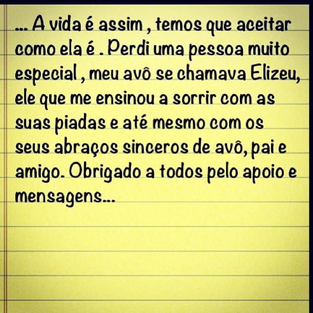 Imagem postada por Alexandre Pato (Foto: Instagram/Reprodução)