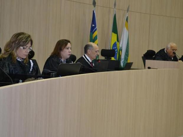 Conselhieiros do Tribunal de Contas do Piauí (Foto: Ascom/TCE-PI)