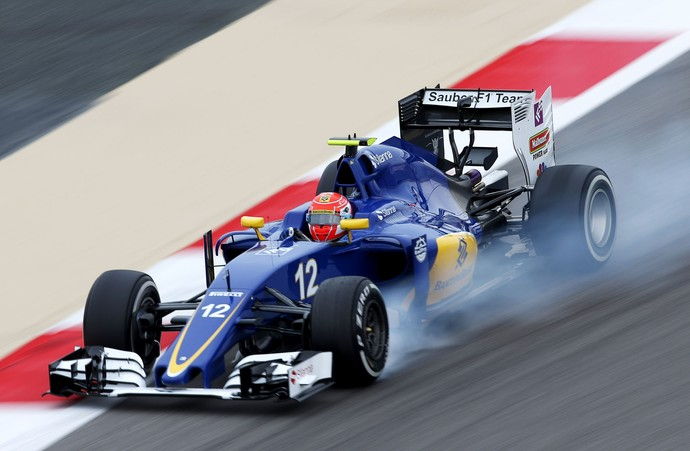 Felipe Nasr no Gp do Bahrein F1 2016 (Foto: Getty Images)