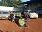 Cinco veículos roubados que seriam levados para Bolívia são recuperados