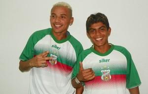 Da Silva e Vaninho, reforços do Baraúnas (Foto: Divulgação)