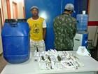 Dupla que pescava quelônios para trocar por drogas é presa no AM
