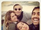 Bruno Gagliasso, Giovanna Ewbank e Ricardo Pereira curtem viagem