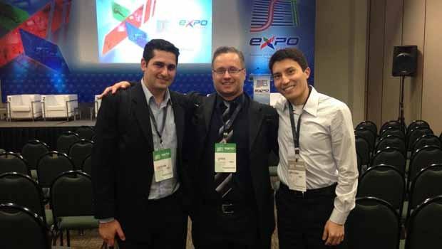 Equipe da Engenharia marcou presença no Congresso da SET (Foto: Divulgação/RPC)