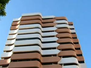 Apartamento que pertenceu a Carla Ubarana será leiloado (Foto: Reprodução/InterTV Cabugi)