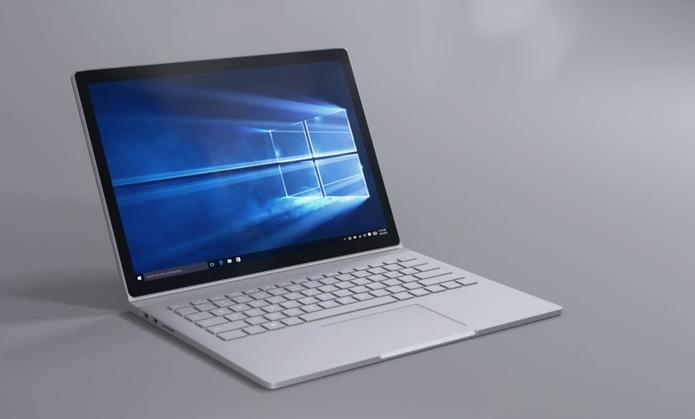 Surface Book, Surface Pro 4 e Lumia 950 foram lançados com Windows 10 em outubro (Foto: Reprodução/Microsoft)