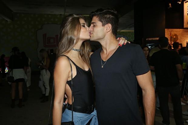 André Martinelli e Gabriela Salles (Foto: Celso Tavares/EGO)