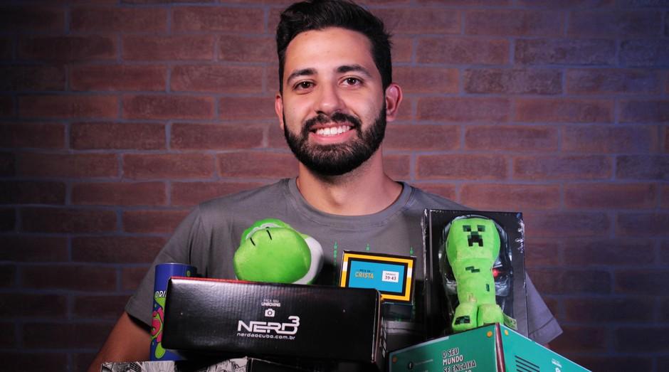 nerd, nerd ao cubo, assinaturas, homem, eletrônico (Foto: Divulgação)
