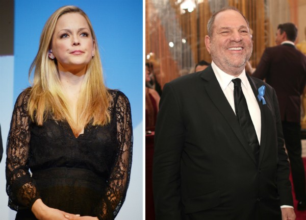 A atriz Marisa Coughlan e o produtor Harvey Weinstein (Foto: Getty Images)