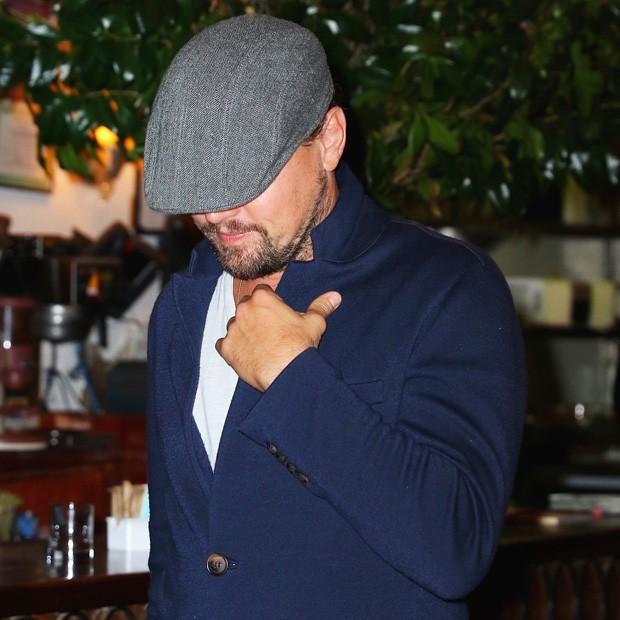 Leonardo DiCaprio prefere os modelos mais tradicionais (Foto: AKM-GSI)