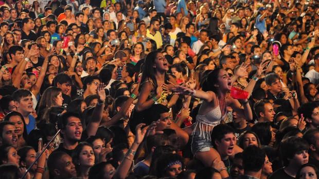 100 mil pessoas circularam pelo Parque de Exposições nos três dias de Festival (Foto: COOFIAV / Divulgação)