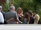 Parentes e amigos se despedem de James Gandolfini