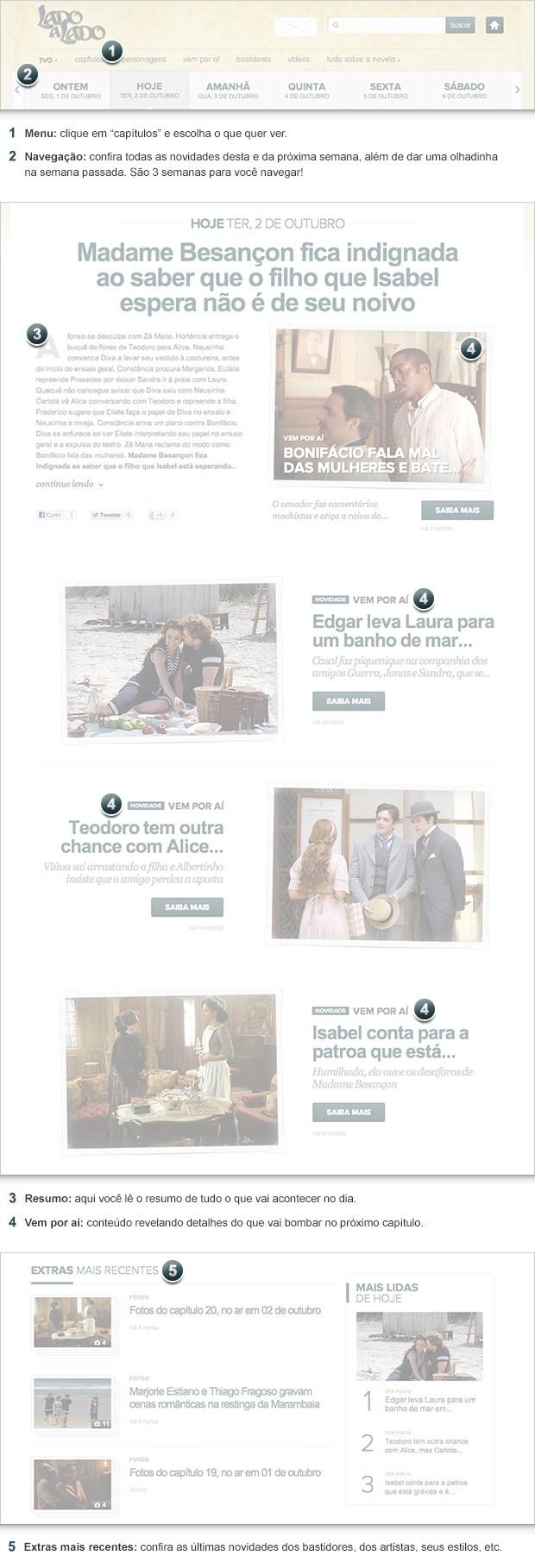 Lado a Lado (Foto: Lado a Lado/TV Globo)